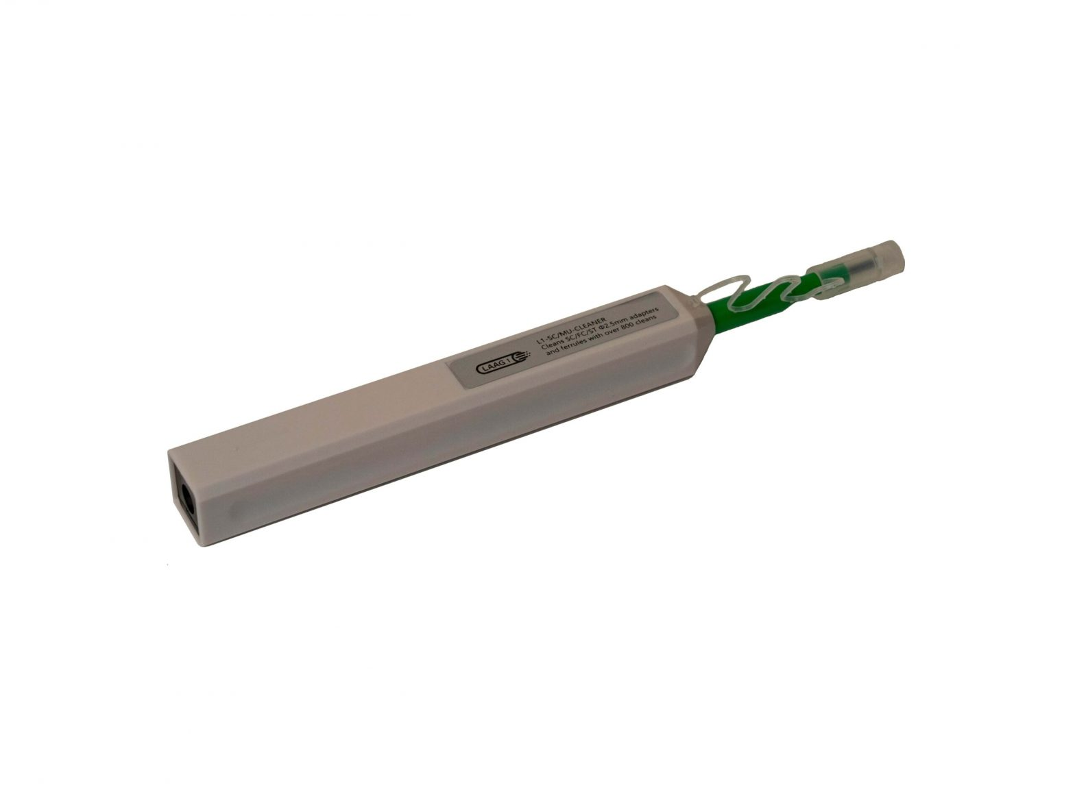 Glasvezel Click Cleaner Pen voor SC Connector, MU Connector